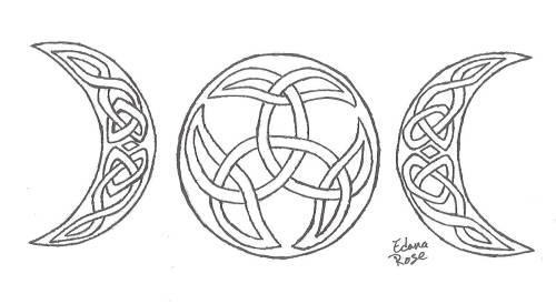 Celtic Moon Knots by LadyEdana on DeviantArt