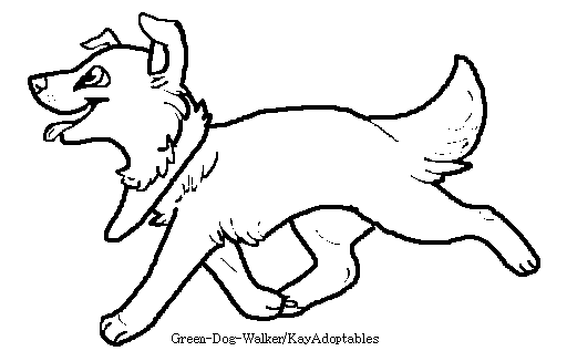 Free Border Collie lineart by KayAdoptables on DeviantArt