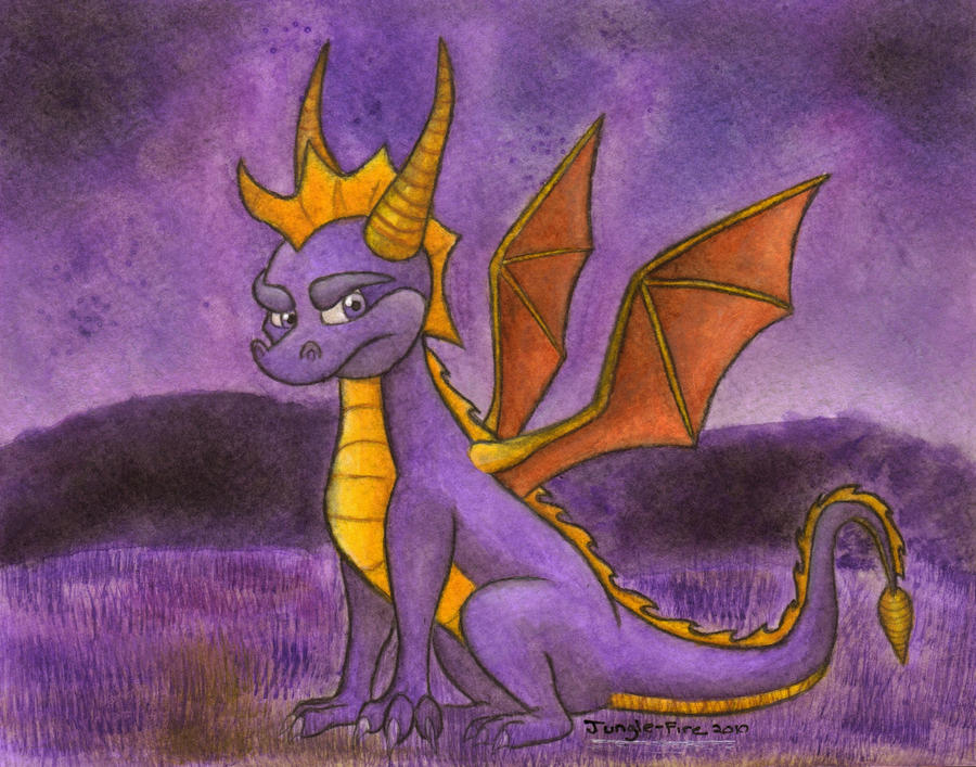 Classic Spyro by Jungle-Fire