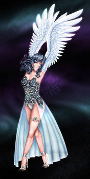 Winged Space Lady