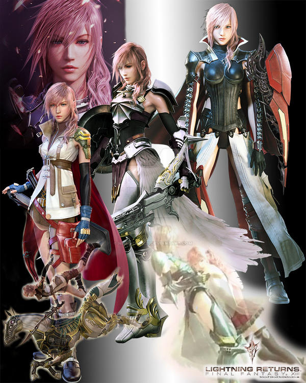 Lightning FFXIII by Ninjadark21