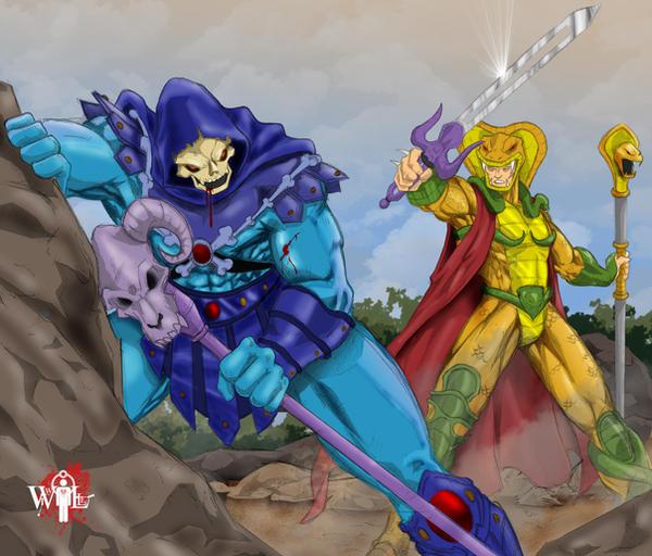 Skeletor-VS-Serpentor by WiL-Woods on DeviantArt
