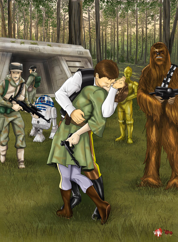 Endor Kiss by WiL-Woods