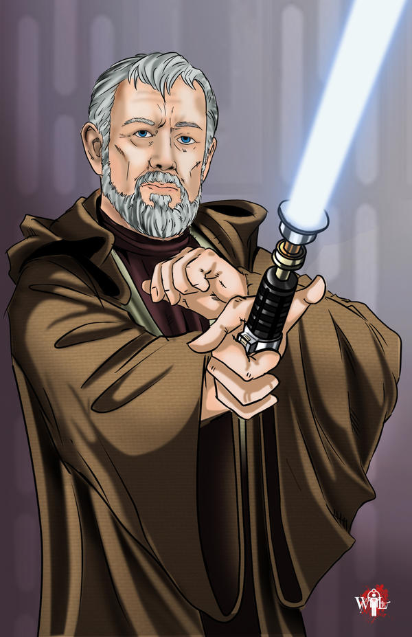 Commission_Obi Wan by WiL-Woods