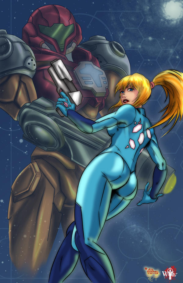 Samus Aran by WiL-Woods