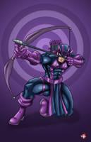 Dark Hawkeye by WiL-Woods