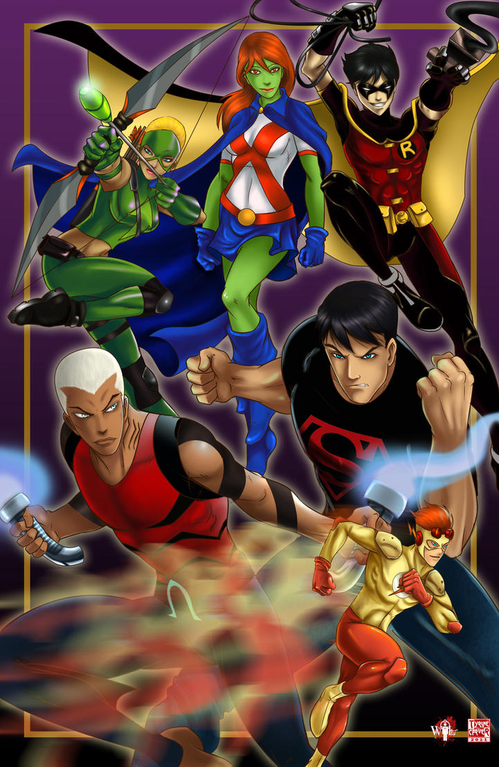 Young Justice by WiL-Woods
