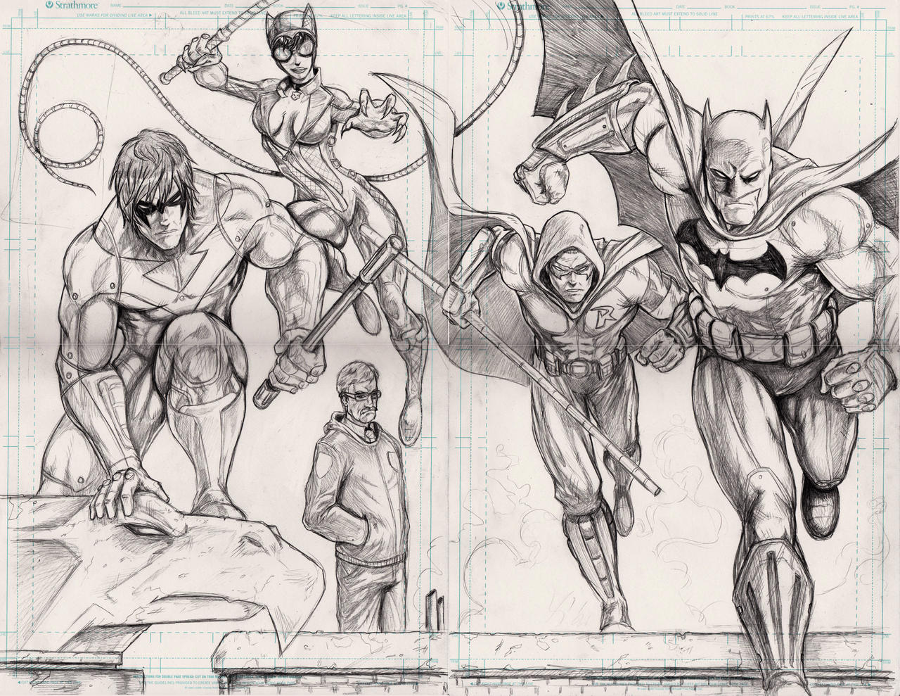 Coloring Pages Batman Arkham Asylum Coloring Pages batman arkham city pencils by wil woods on deviantart woods