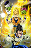 Dragonball Z by WiL-Woods