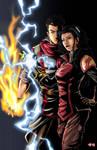 Legend of Korra- Asami and Mako