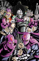 TMNT- Shredder and the Foot by WiL-Woods