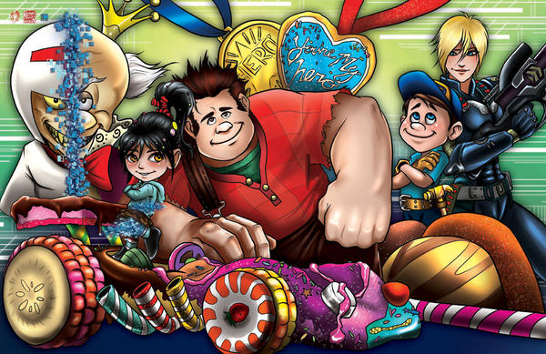 Wreck It Ralph by WiL-Woods