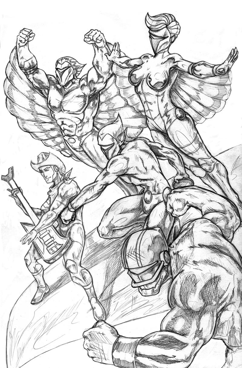 Thundercats  Coloring Pages