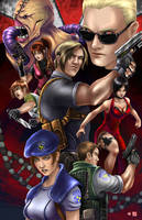 Resident Evil Legacy by WiL-Woods