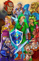 Legend of Zelda Ocarina of Time by WiL-Woods