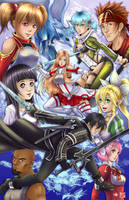 Sword Art Online by WiL-Woods