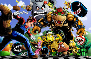 Super Mario Bros 3 by WiL-Woods