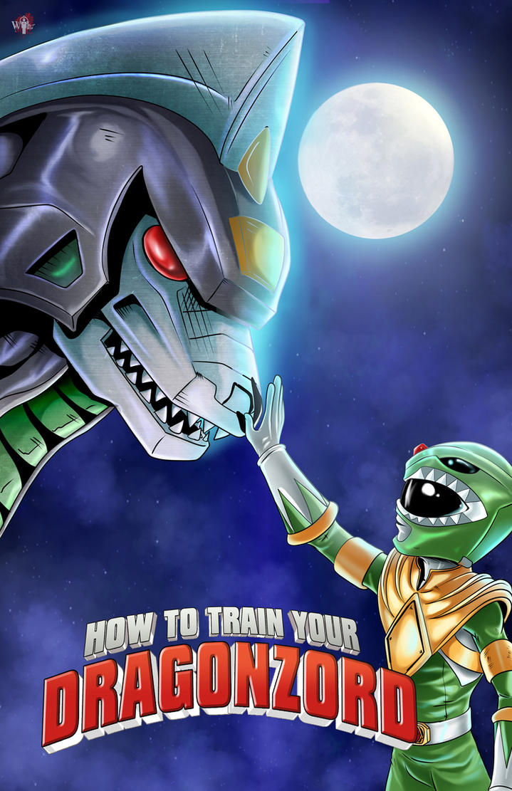 Power Rangers- How To Train Your Dragonzord by WiL-Woods