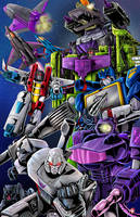Decepticons by WiL-Woods