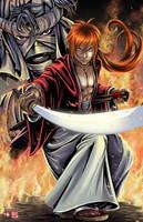 Rurouni  Kenshin 2015 by WiL-Woods