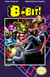 8-Bit! Issue 1 Cover by WiL-Woods