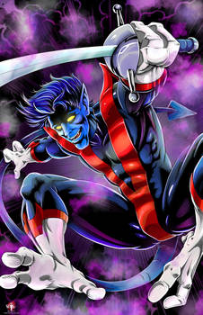Marvel Nightcrawler 2017