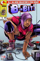 8bit Spiderman cover