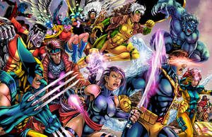 90's X-Men Color by WiL-Woods