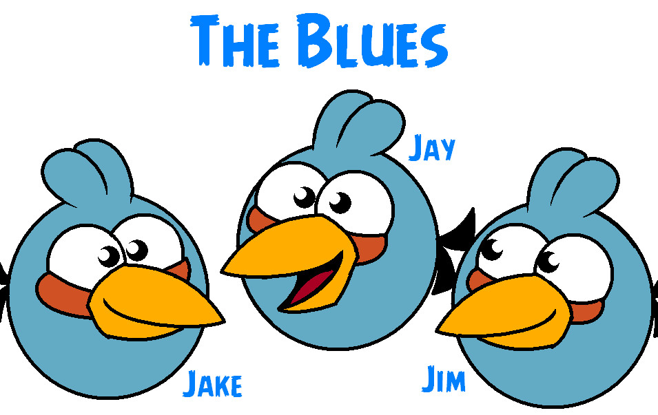 The Blues Angry Birds - #traffic-club