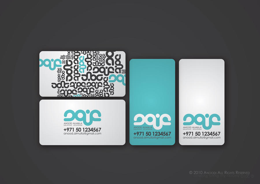 Business Card by Anoodii on DeviantArt