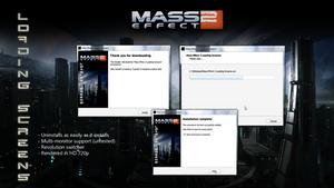 ME2 Loading Screensaver