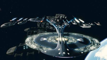 Star Trek Online Ships of the Line.