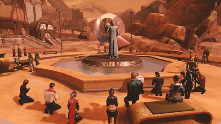 Star Trek Online Paying Respects