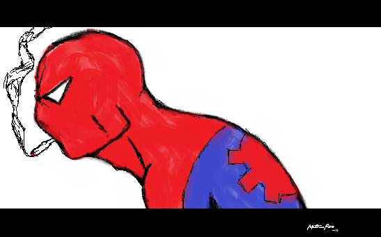 Spider Man- by hulk1234