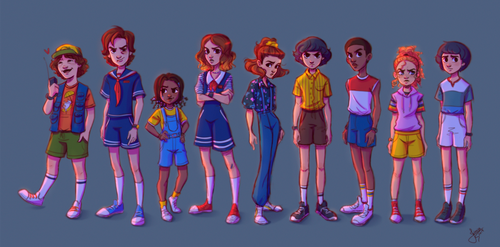 Stranger Things personagens