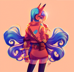 Akira Girl Fanart by Jessibrasilart