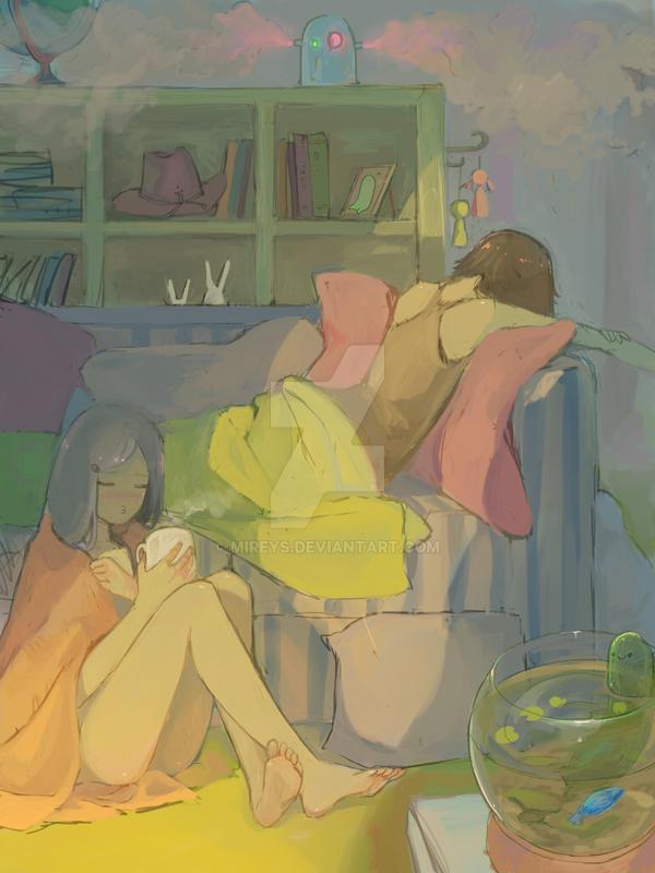 take a rest by Mireys