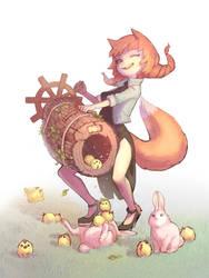 fox by Mireys