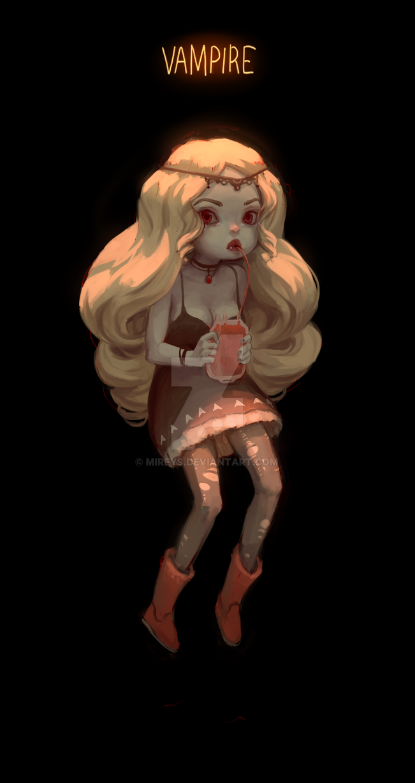 Vampire by Mireys