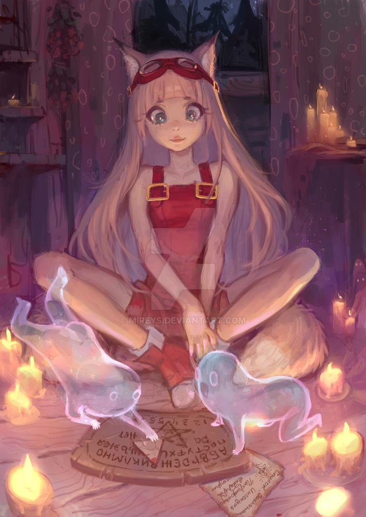 Commission Maeda by Mireys