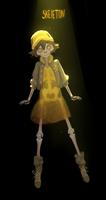 Skeleton #drawlloween