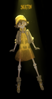 Skeleton #drawlloween by Mireys