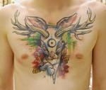 tattoo the jackalope