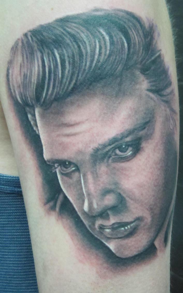 Elvis Presley Signature Tattoo
