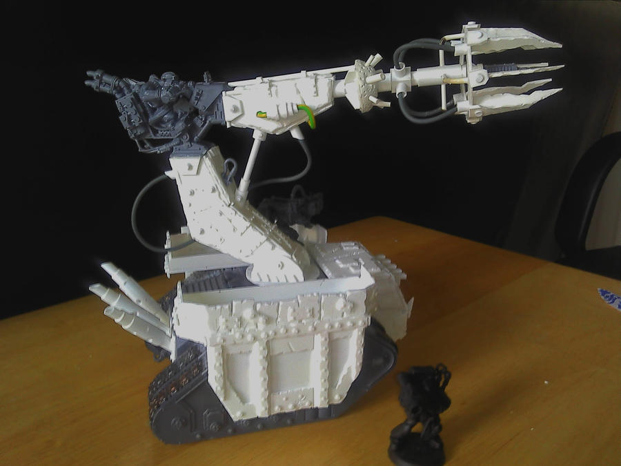Scratchbuilt Ork Lifta Dropa by MrBeardyMan
