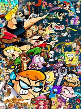 Cartoon Cartoons/Cartoon Cartoon Fridays Poster