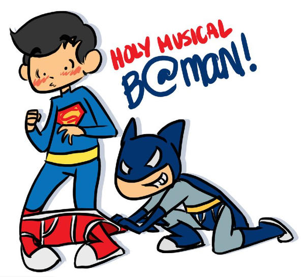 Batman slip Superman