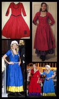 Nancy and Bet Costumes