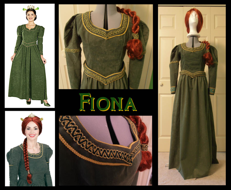 Princess Fiona Costume by Durnesque on DeviantArt