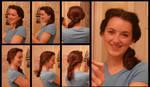 Belle's Day Hair
